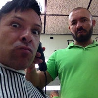 Photo taken at Ron's Barber Shop by David R. on 9/20/2013