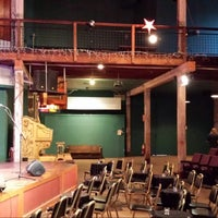 Photo taken at Acorn Theater by Alicia O. on 4/3/2014