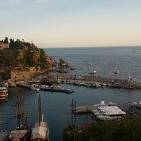 Photo taken at Liman Seyir Terası by Zeynep D. on 4/23/2018