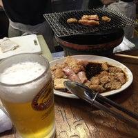 Photo taken at 焼き肉つるや by jun on 7/31/2015