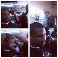Photo taken at Get Down Barber Shop by MrJroc on 9/19/2012