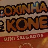 Photo taken at Coxinha no Kone by Aline D. on 6/13/2014