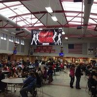 Photo taken at Glenwood High School by Greg O. on 3/1/2014