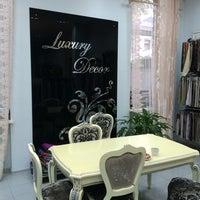 Photo taken at Luxury Decor by Ms.Liliya on 5/15/2014