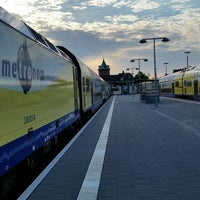 Photo taken at Cuxhaven railway station by Ulf H. on 5/20/2014