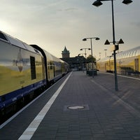 Photo taken at Cuxhaven railway station by Ulf H. on 5/5/2014