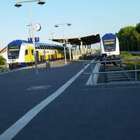 Photo taken at Cuxhaven railway station by Ulf H. on 5/19/2014