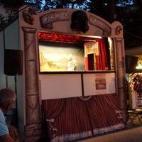 Photo taken at Teatro dei Burattini dei fratelli Ferraiolo by Remo R. on 6/26/2014