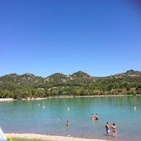 Photo taken at Lac de Peyrolles by Jennifer M. on 8/18/2014