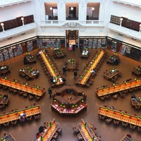 Photo taken at State Library of Victoria by Giulia T. on 7/22/2013