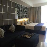 Photo taken at Astana Pengembak Suite hotel by Daphne, Ui Jen C. on 5/20/2016