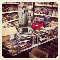 Photo taken at 8th Street Books & Comics by Jonathan T. on 11/28/2012