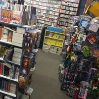 Photo taken at 8th Street Books & Comics by Jonathan T. on 12/17/2015