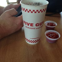Photo taken at Five Guys by Diane W. on 6/22/2013