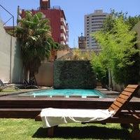 Photo taken at Villaggio Hotel Boutique Mendoza by Francisca A. on 12/29/2013