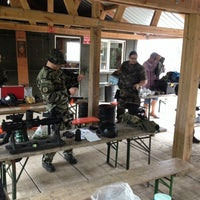Photo taken at Paintball 4 game by Benoit P. on 9/22/2013