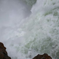 Photo taken at Brink Of Upper Falls by Matt H. on 7/16/2014