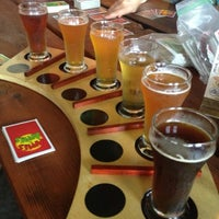 Photo taken at Right Brain Brewery by Rebecca S. on 7/5/2013