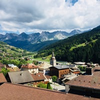 Photo taken at Le Grand-Bornand by Quentin P. on 8/16/2018