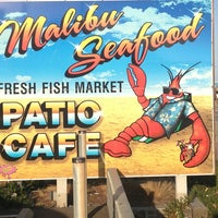 Photo taken at Malibu Seafood Fresh Fish Market & Patio Cafe by Brian J. on 5/19/2013
