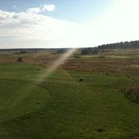 Photo taken at Kings Deer GC by Justin O. on 9/30/2012