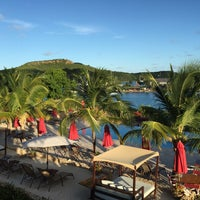 Photo taken at Admirals Inn Antigua by Charlie on 6/13/2016