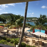 Photo taken at Admirals Inn Antigua by Charlie on 6/18/2016