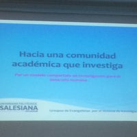 Photo taken at Universidad Politécnica Salesiana De Cuenca by Adrián N. on 8/4/2015
