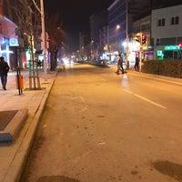 Photo taken at İnönü Caddesi by Emre C. on 1/30/2018