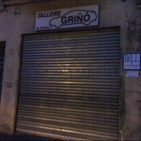 Photo taken at Tallers GRIÑÓ by Albert S. on 2/5/2014