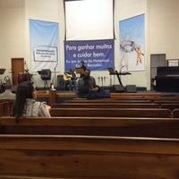 Photo taken at Igreja Batista em Vila Nova Cachoeirinha by Jayme on 6/22/2014