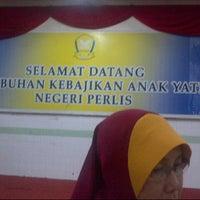 Photo taken at Pertubuhan anak yatim jejawi perlis by Sacha R. on 11/14/2013