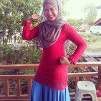 Photo taken at Kampung Kuala Lama, Mukah by Liyana B. on 8/10/2013