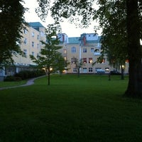 Photo taken at Badhotellet Spa & Konferens Hotel by Sven E. on 5/30/2013