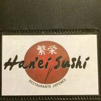 Foto tirada no(a) Han'ei Sushi por Tassya A. em 5/19/2014