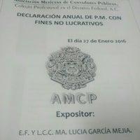 1/27/2016 tarihinde Betox S.ziyaretçi tarafından Asociación Mexicana de Contadores Públicos'de çekilen fotoğraf