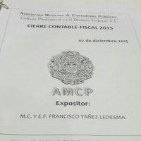 12/3/2015 tarihinde Betox S.ziyaretçi tarafından Asociación Mexicana de Contadores Públicos'de çekilen fotoğraf