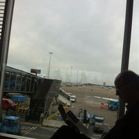 Photo taken at Gate B26 by Leo M. on 11/4/2012
