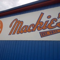 Photo taken at Mackie's by Geri R. on 10/14/2012
