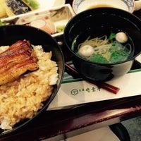 Photo taken at うなぎ 日本料理 大阪 竹葉亭 by Yuri M. on 12/31/2014