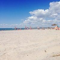 Снимок сделан в Пляж Коблево пользователем Ирина 6/22/2014