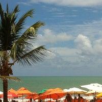 Photo taken at Praia do Recife by sylvia v. on 3/17/2013