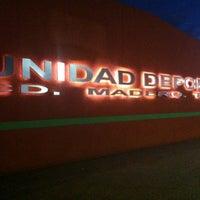 Photo taken at Unidad Deportiva de Ciudad Madero by Erick I. on 12/4/2012