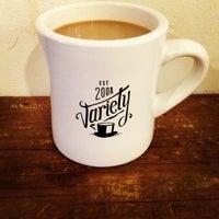 Снимок сделан в Variety Coffee Roasters пользователем Emily D. 2/21/2013