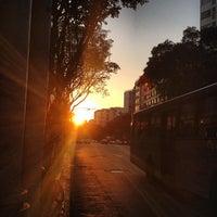 Photo taken at Rua Conde de Bonfim by Renata B. on 7/17/2013