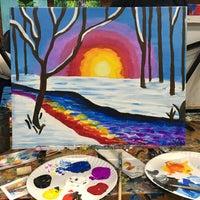 Photo taken at Painting Lounge by Radhika S. on 2/27/2016