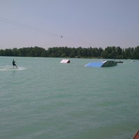 Photo taken at Dunaharaszti Wakeboard by Adam B. on 6/21/2013