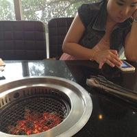 Photo taken at AKA USHI - Japanese Grill & Sushi by Sitthiphong B. on 2/8/2013