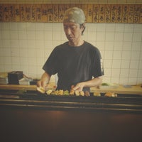 Photo taken at Yakitori Koshiji by Nguyen D. on 12/6/2012
