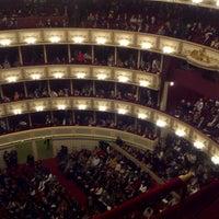 Photo taken at Vienna State Opera by Elena D. on 12/1/2012